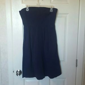 J. Crew Strapless Summer Dress